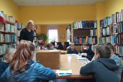 Lekcja biblioteczna-kl. IV